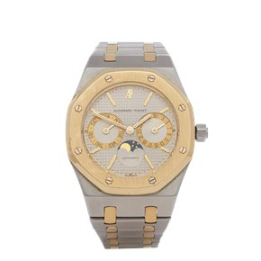 Audemars Piguet Royal Oak Day-Date 18K Yellow Gold & Stainless Steel - 25594SA