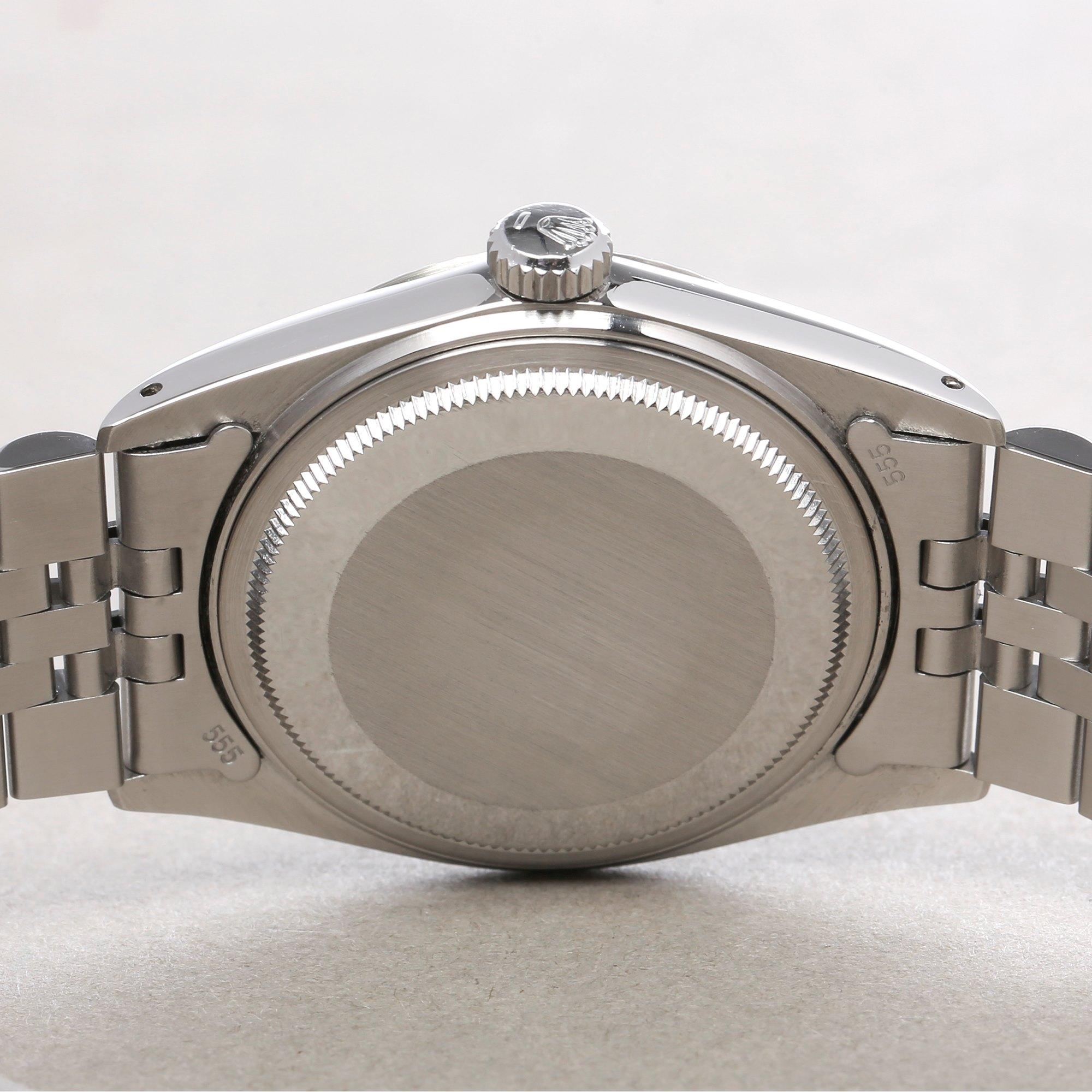 Rolex Datejust 36 18K White Gold & Stainless Steel 16014
