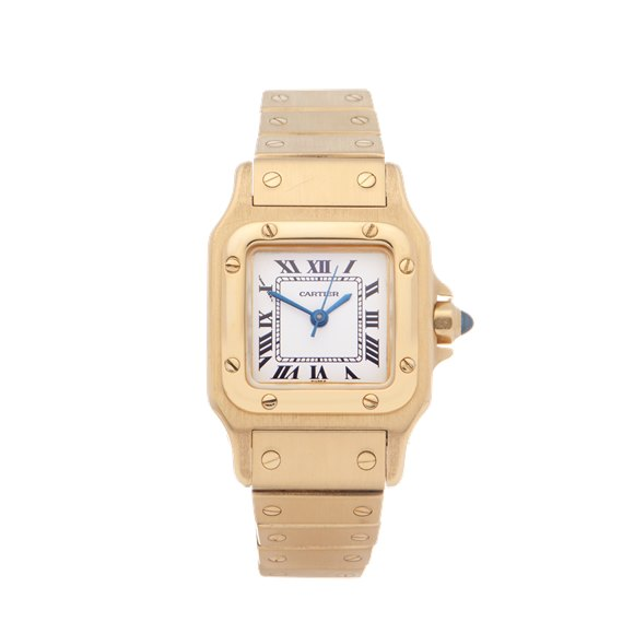 Cartier Santos Galbee Automatique 18K Yellow Gold - 866930
