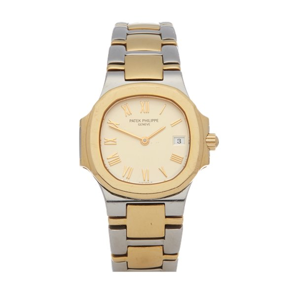 Patek Philippe Nautilus Lady 18K Stainless Steel & Yellow Gold - 4700/061