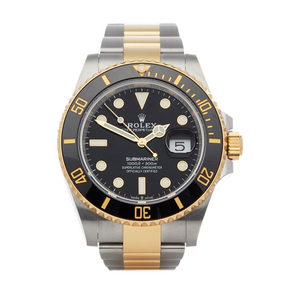 Rolex Submariner Date 18K Stainless Steel & Yellow Gold - 126613LN