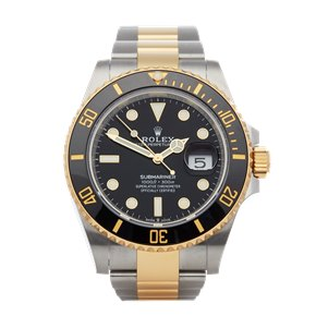 Rolex Submariner Date 18K Yellow Gold & Stainless Steel - 126613LN