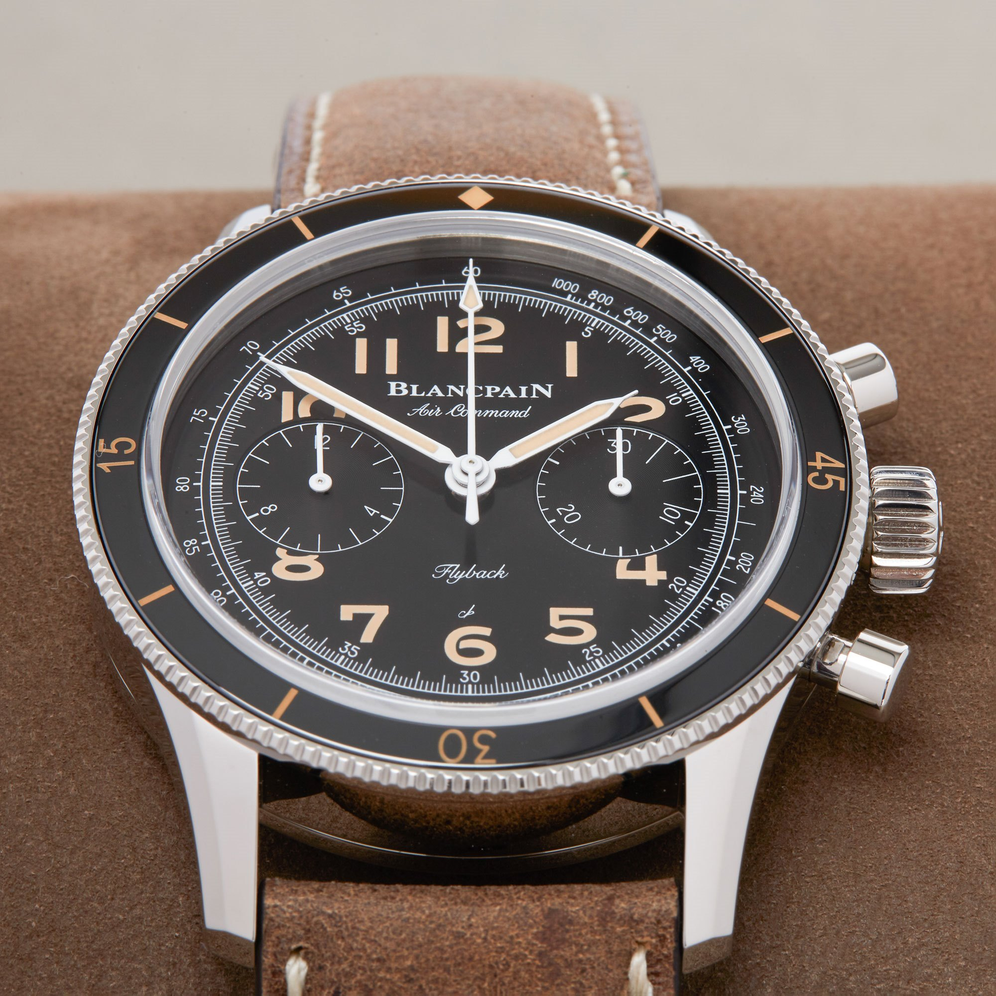 Blancpain Air Command Air Command Flyback Chronograph Ltd Edition Unworn Stainless Steel AC01 1130 63A