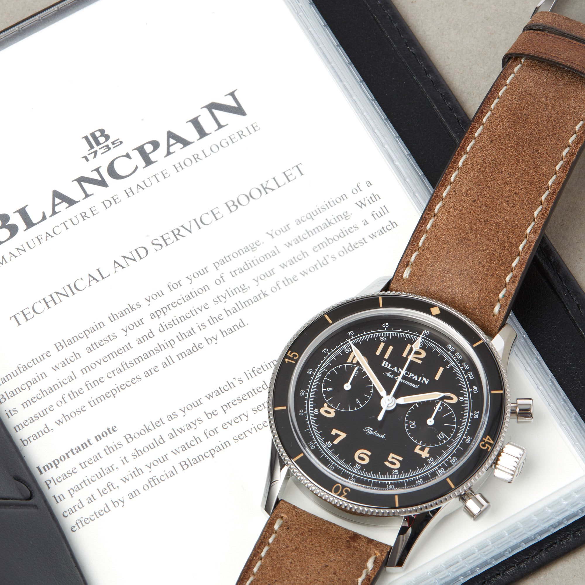 Blancpain Air Command Air Command Flyback Chronograph Ltd Edition Unworn Stainless Steel - AC01 1130 63A Roestvrij Staal AC01 1130 63A