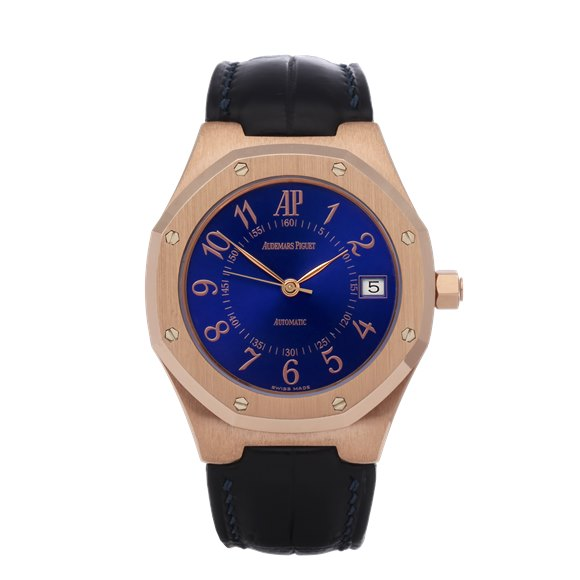 Audemars Piguet Royal Oak Royal Blue 18K Rose Gold - 14800OR