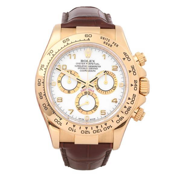Rolex Daytona Cosmograph 18K Yellow Gold - 116518