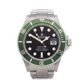 Rolex Submariner Date Random Serial & Engraved Rehaut Stainless Steel - 16610LV