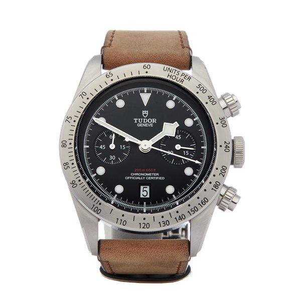 Tudor Black Bay Chronograph Stainless Steel - 79350