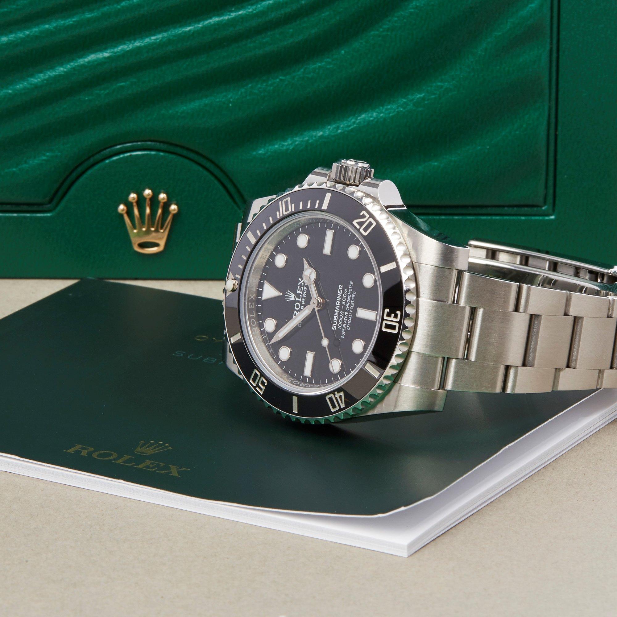 Rolex Submariner Non-Date Stainless Steel 114060