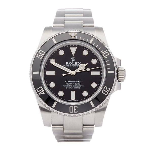Rolex Submariner Non-Date Stainless Steel - 114060