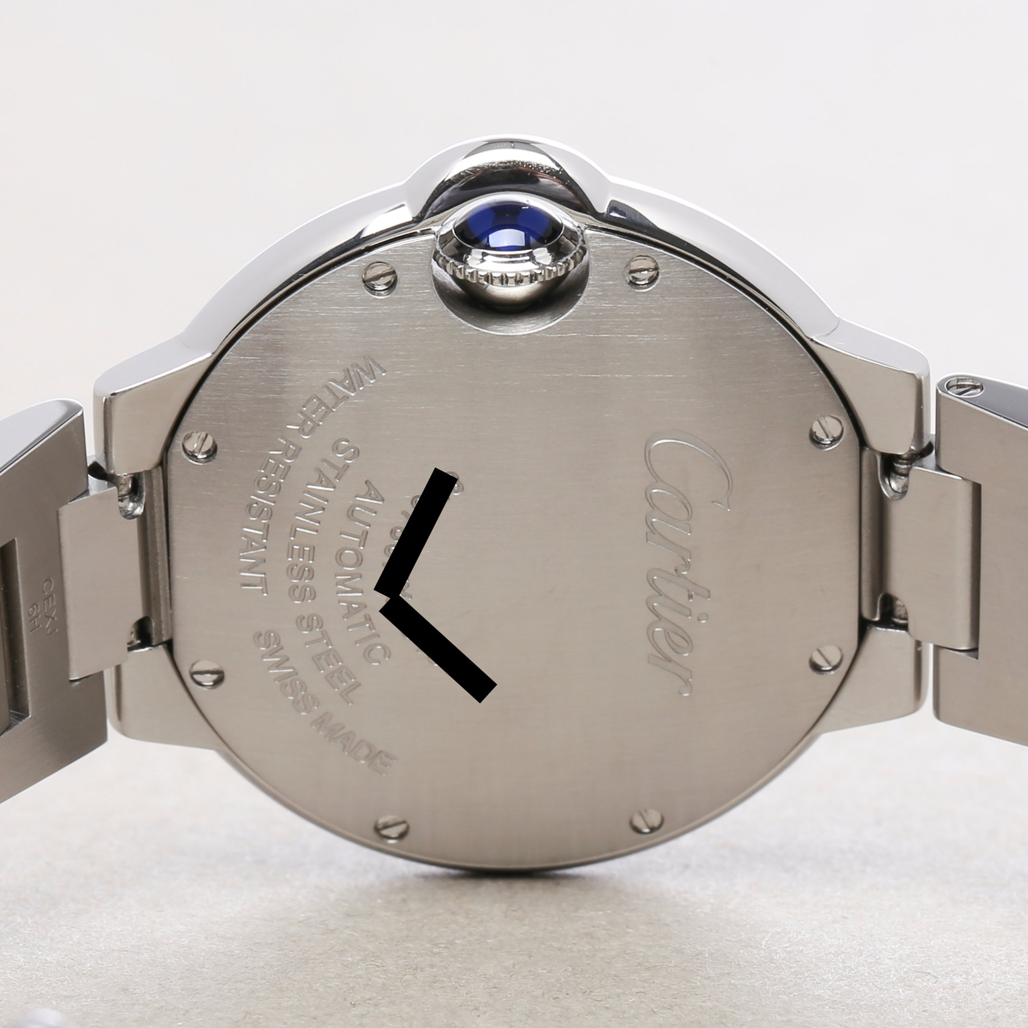 Cartier Ballon Bleu Automatic Stainless Steel W6920071 or 3489