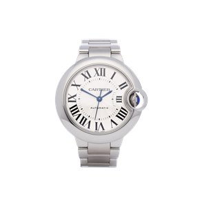 Cartier Ballon Bleu Automatic Stainless Steel - W6920071 or 3489