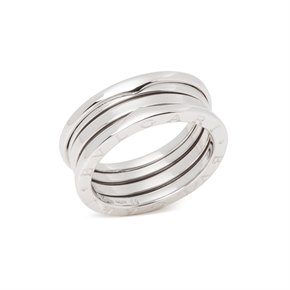 Bulgari B Zero1 Three Row 18ct White Gold Band Ring