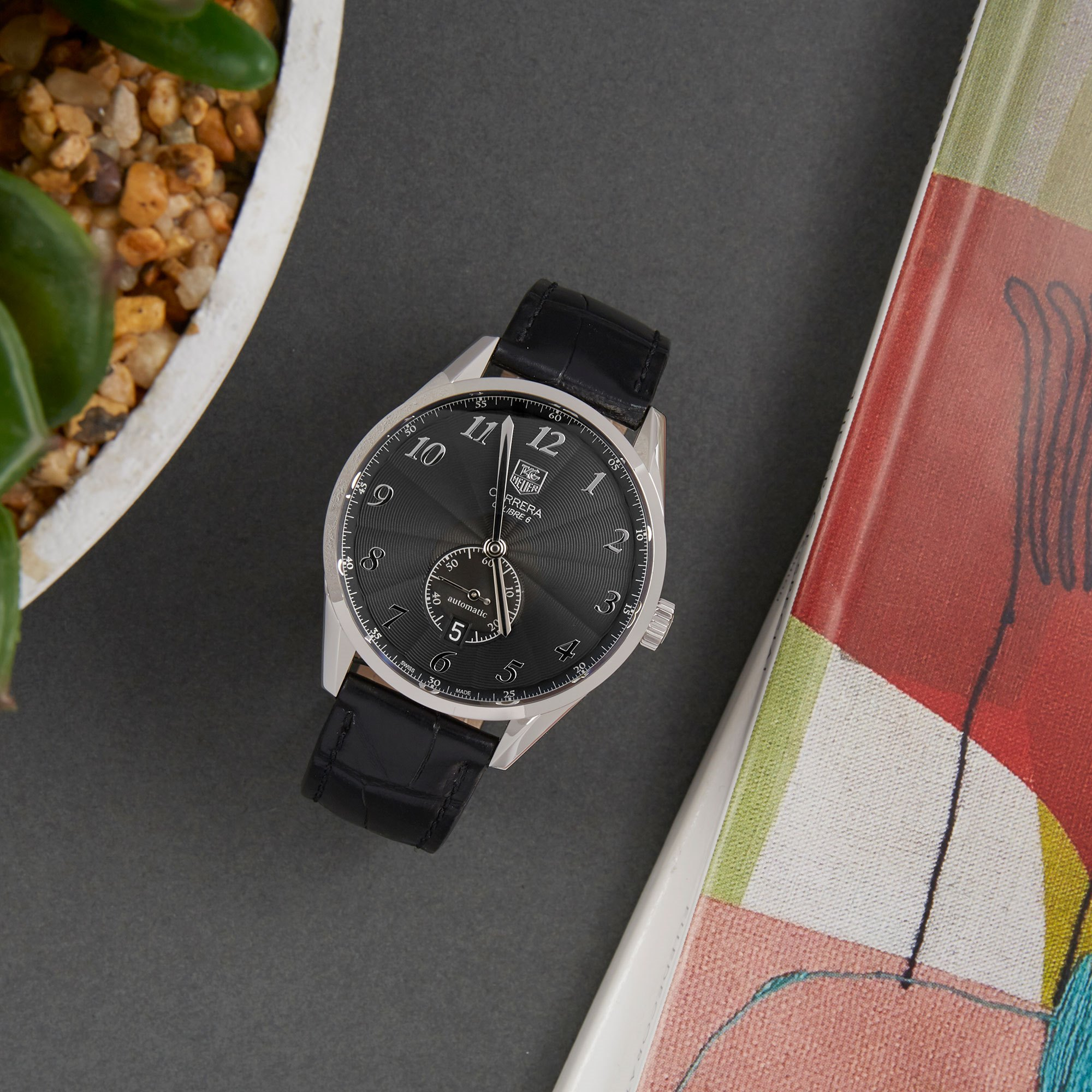 Tag Heuer Carrera Roestvrij Staal WAS2110