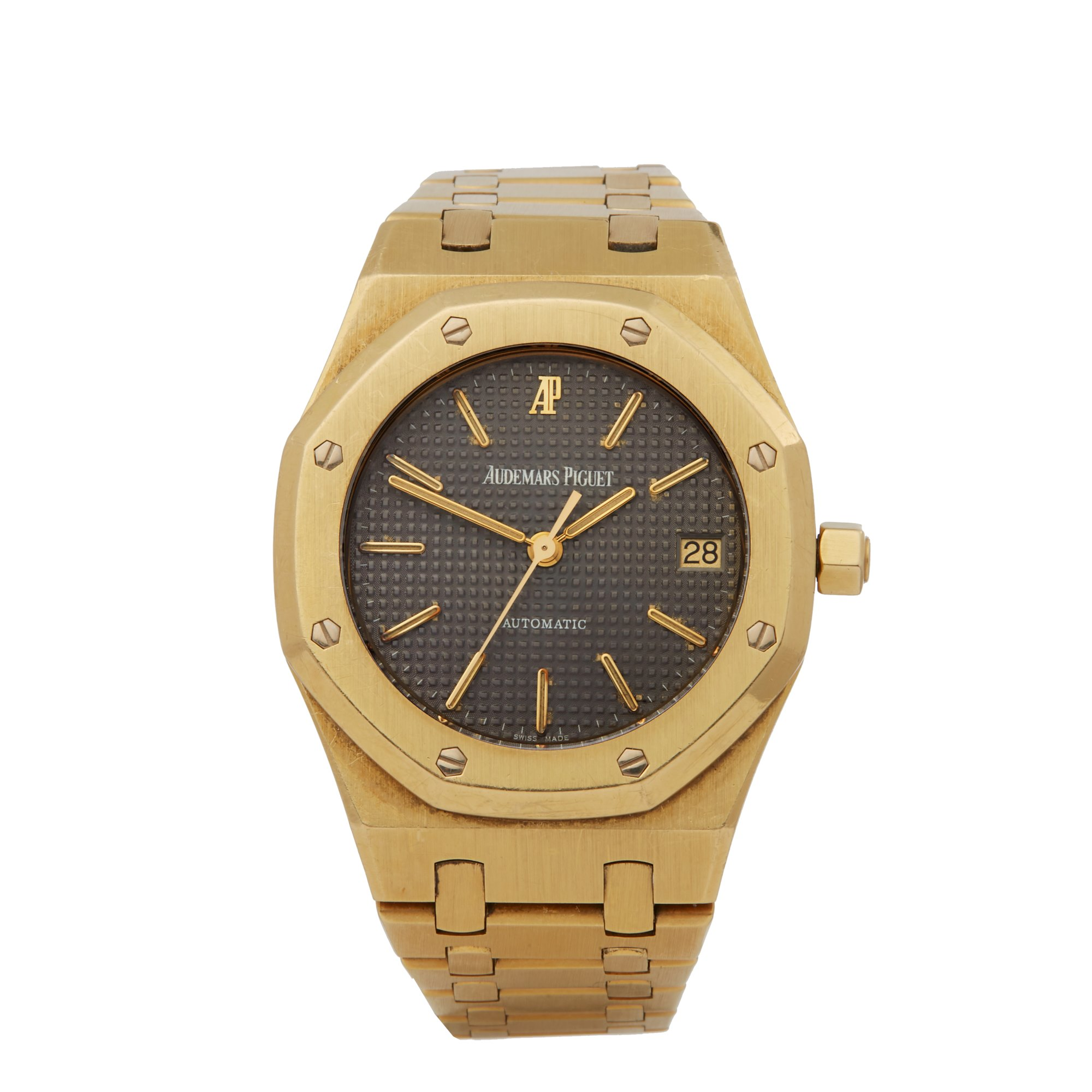 Audemars Piguet Royal Oak Tropical Early Series 18K Yellow Gold - 14790BA Geel Goud 14790BA