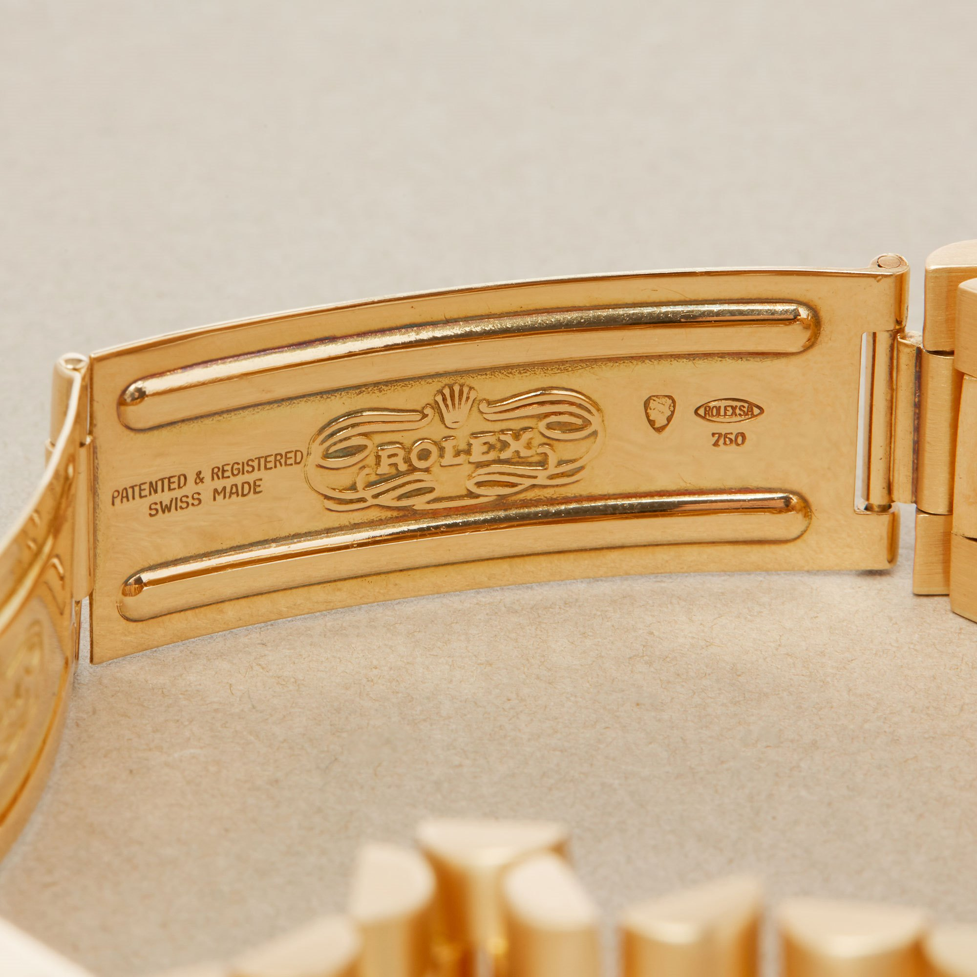 Rolex Day-Date 36 18K Yellow Gold 1803