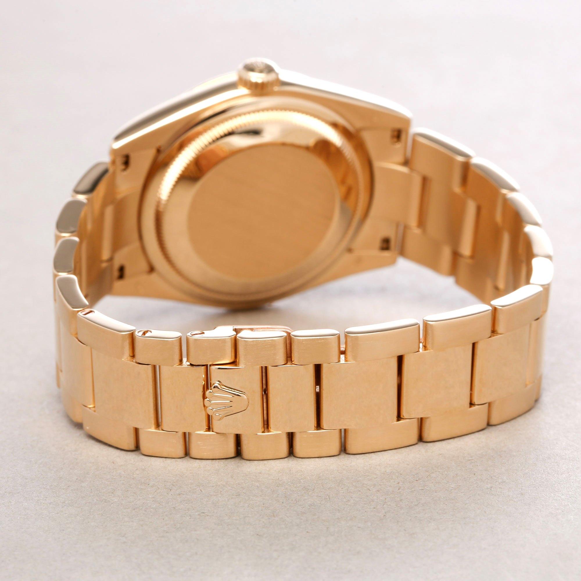 Rolex Day-Date 36 Rubellite Diamond 18K Yellow Gold - 118238 Yellow Gold 118238