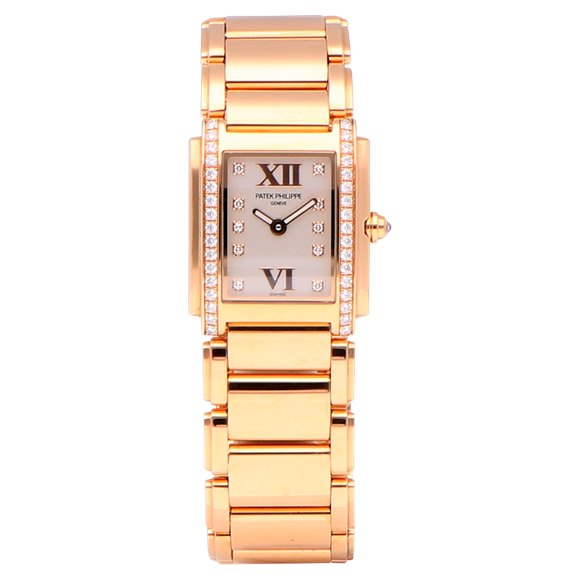 Patek Philippe Twenty-4 Diamond Rose Gold - 4908/11R-011