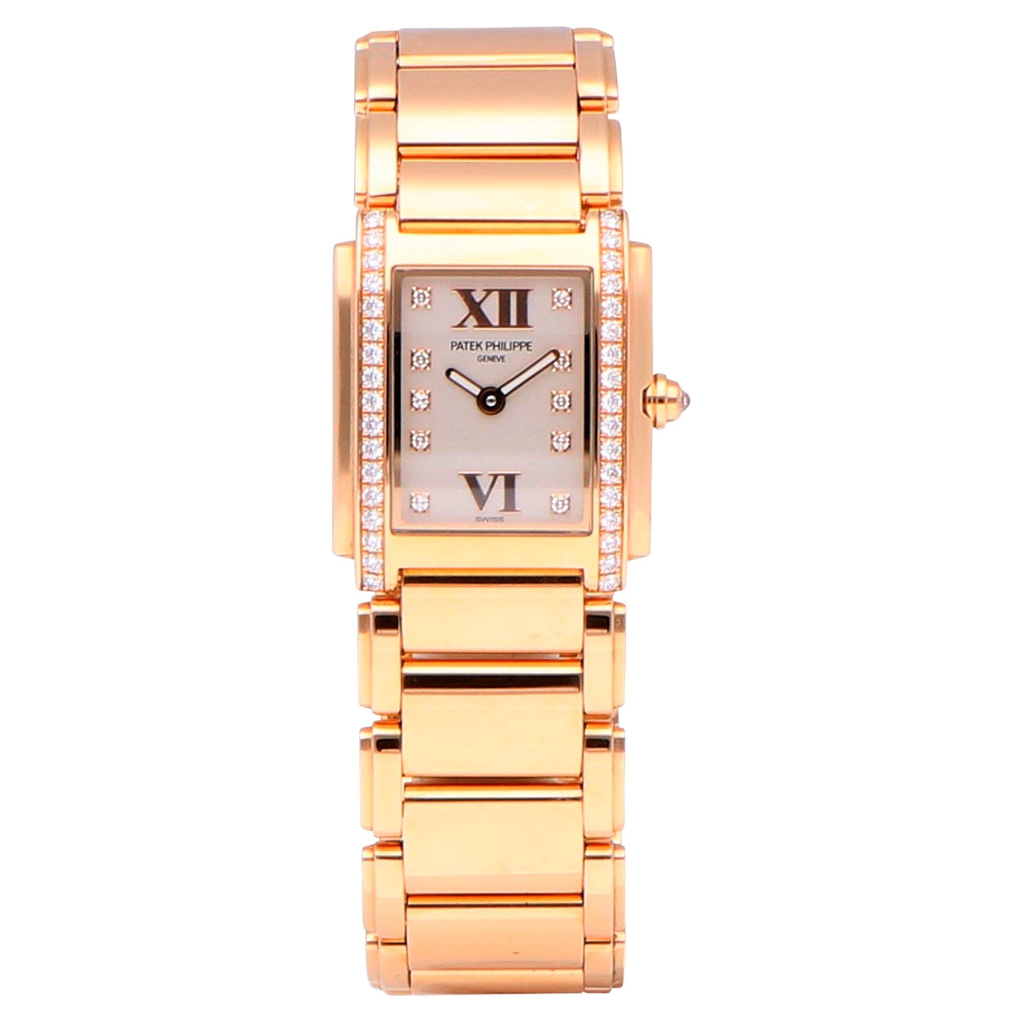 Patek Philippe Twenty-4 Diamond Rose Gold 4908/11R-011