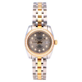 Tudor Classic Stainless Steel & Yellow Gold - 22023-0006