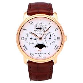 Blancpain Villeret 18k Rose Gold - 6659-3631-55B