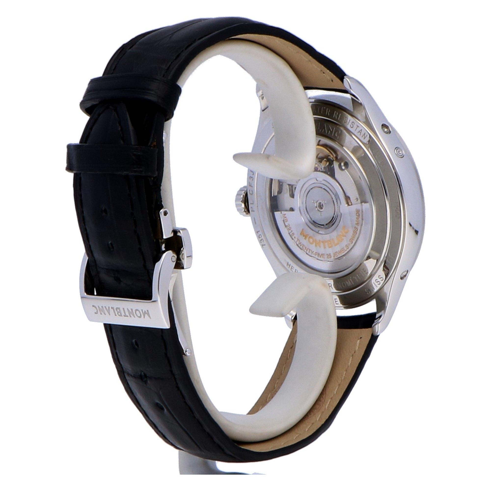 Montblanc Heritage Chronometrie Stainless Steel 112534