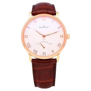 Blancpain Villeret 18k Rose Gold - 6653Q-3642-55A
