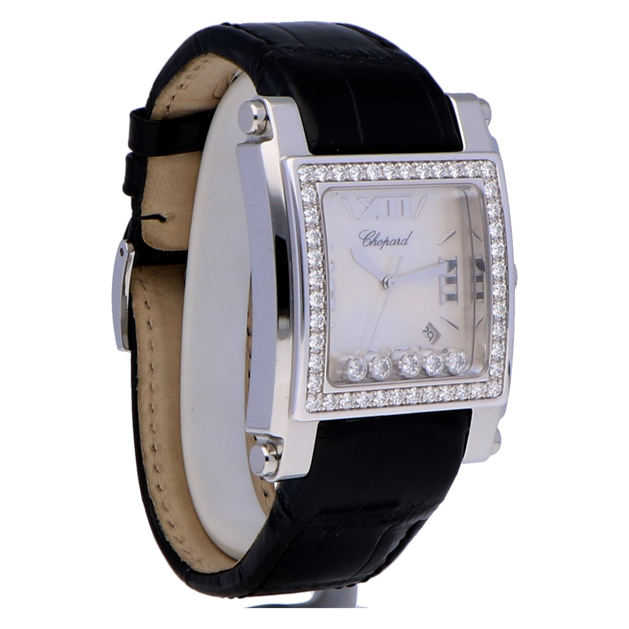 Chopard Happy Sport Square Stainless Steel 288448-2001