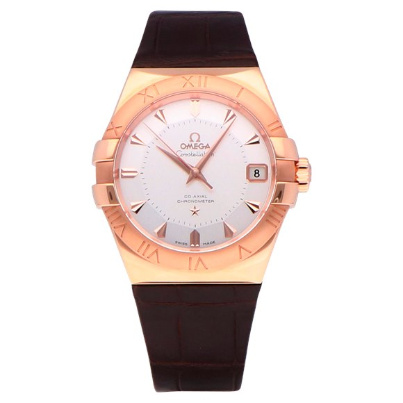 Omega Constellation 18k Rose Gold - 123.53.38.21.02.001