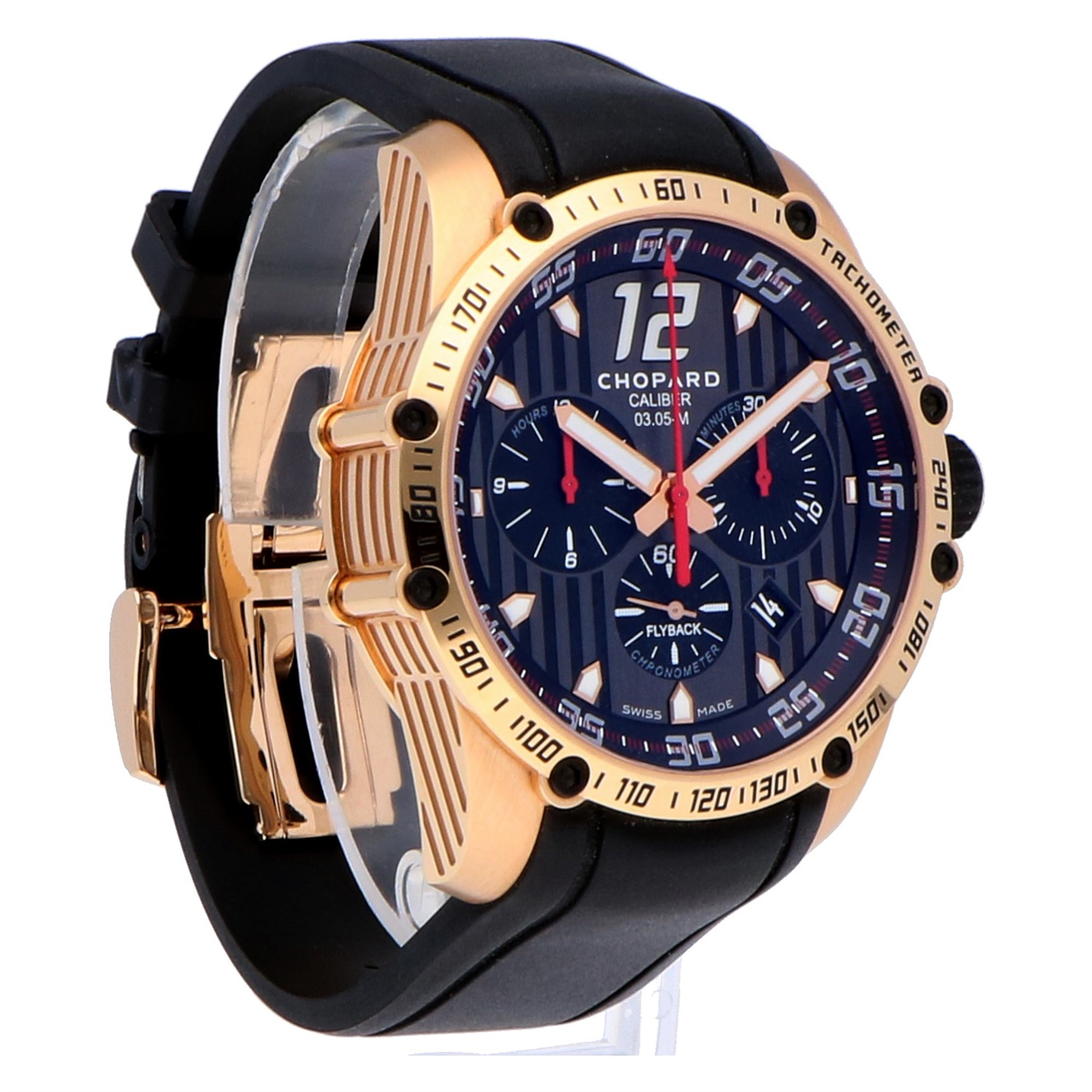 Chopard Classic Racing 18k Rose Gold 161284-5001