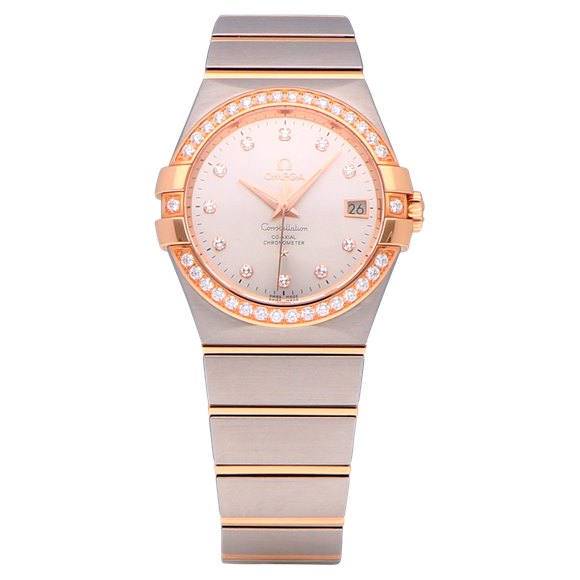 Omega Constellation Stainless Steel & Rose Gold - 123.25.35.20.52.001