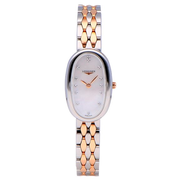 Longines Symphonette Stainless Steel & Rose Gold - L2.305.5.87.7