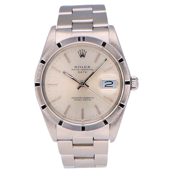 Rolex Oyster Perpetual Date Stainless Steel - 15010