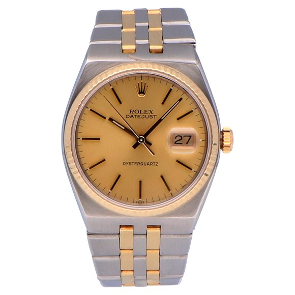 Rolex Datejust Oysterquartz Stainless Steel & Yellow Gold - 17013