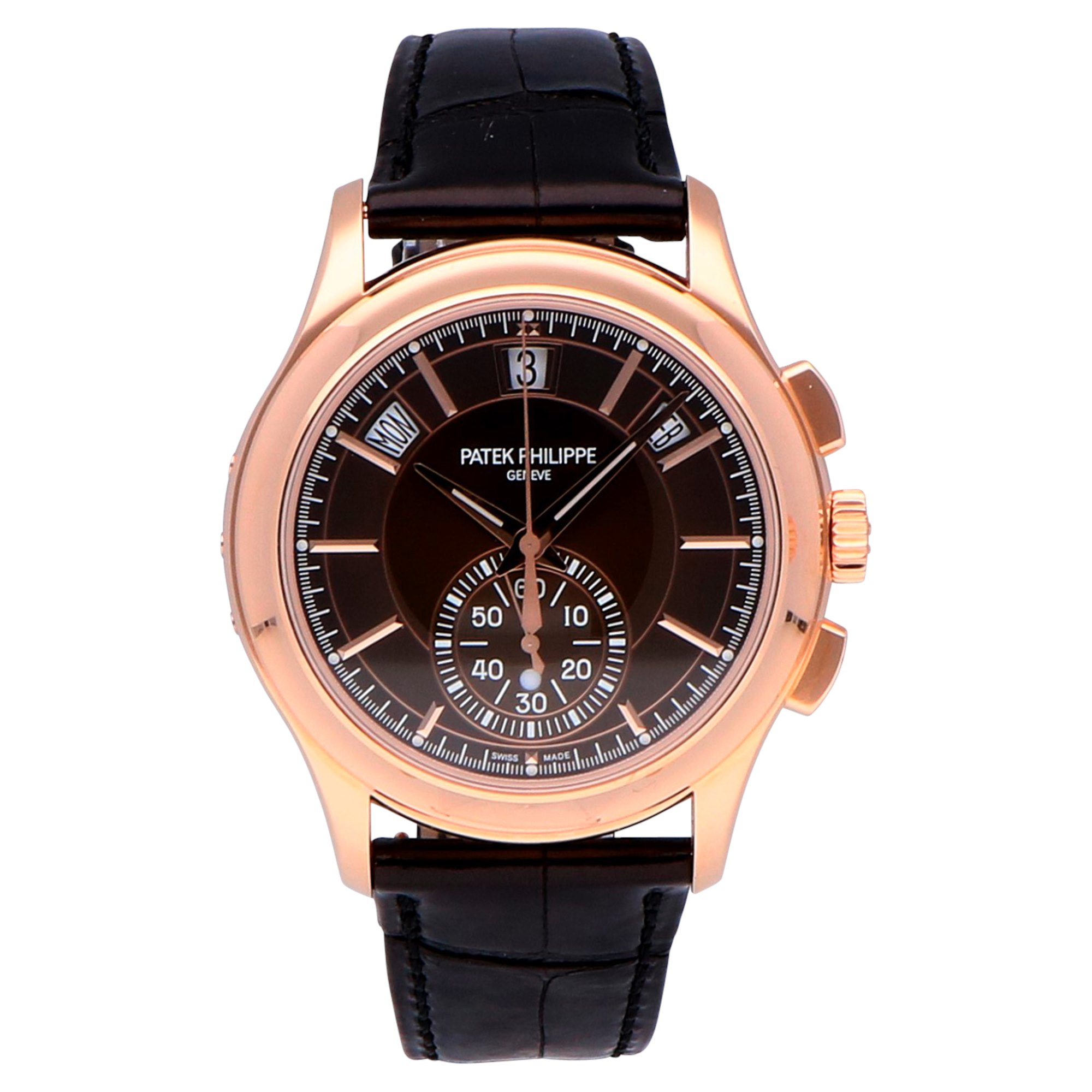 Patek Philippe Complications Annual Calender 18k Rose Gold 5905R-001