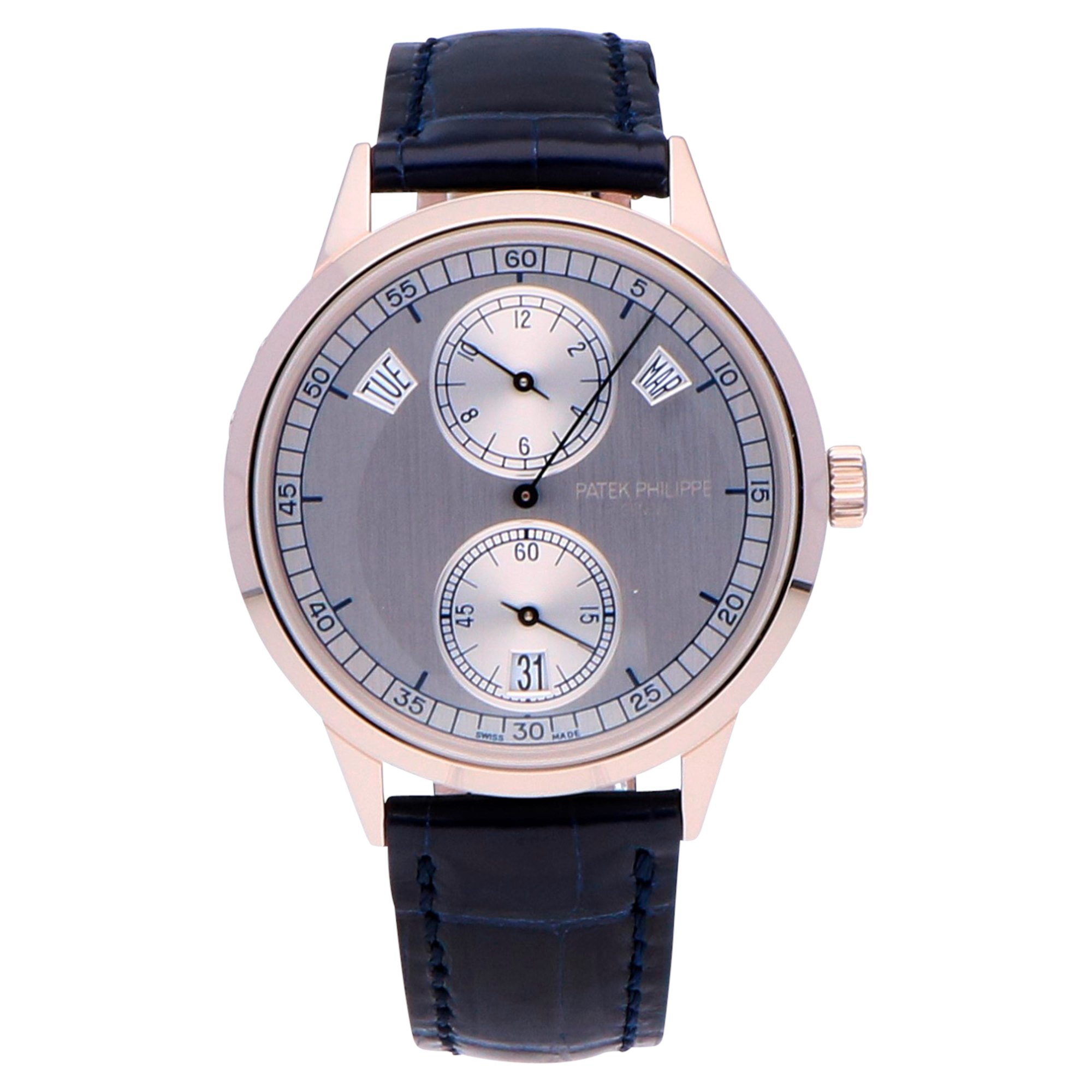 Patek Philippe Complications Annual Calender 18k White Gold 5235G-001
