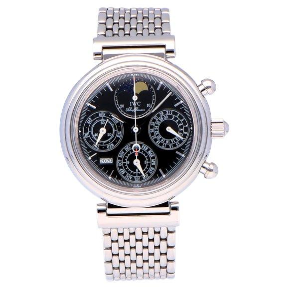 IWC Da Vinci Perpetual Calendar Chronograph Stainless Steel - IW375034