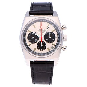 Zenith El Primero Stainless Steel - A384