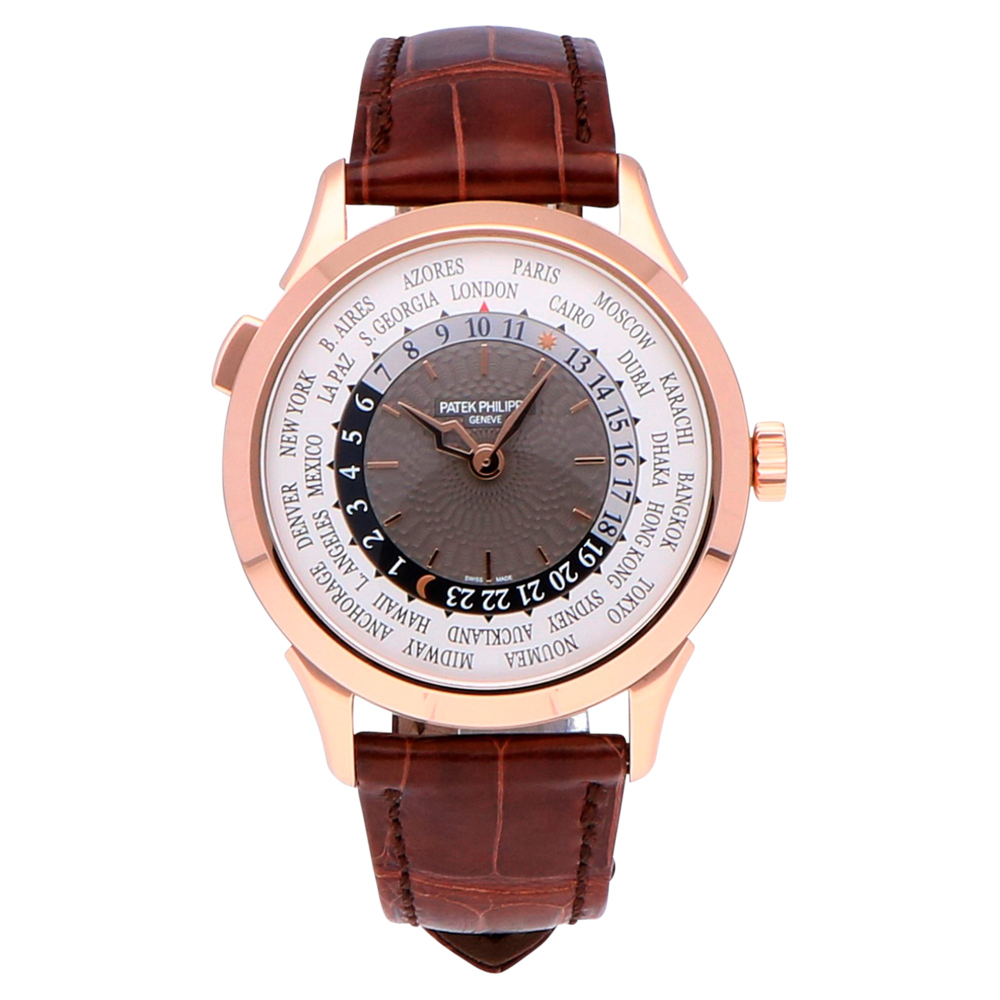 Patek Philippe Complications Worldtime 18k Rose Gold 5230R-001