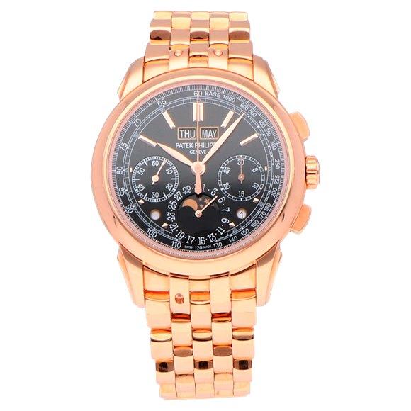 Patek Philippe Grand Complications Perpetual Calendar Chronograph 18k Rose Gold - 5270/1R-001