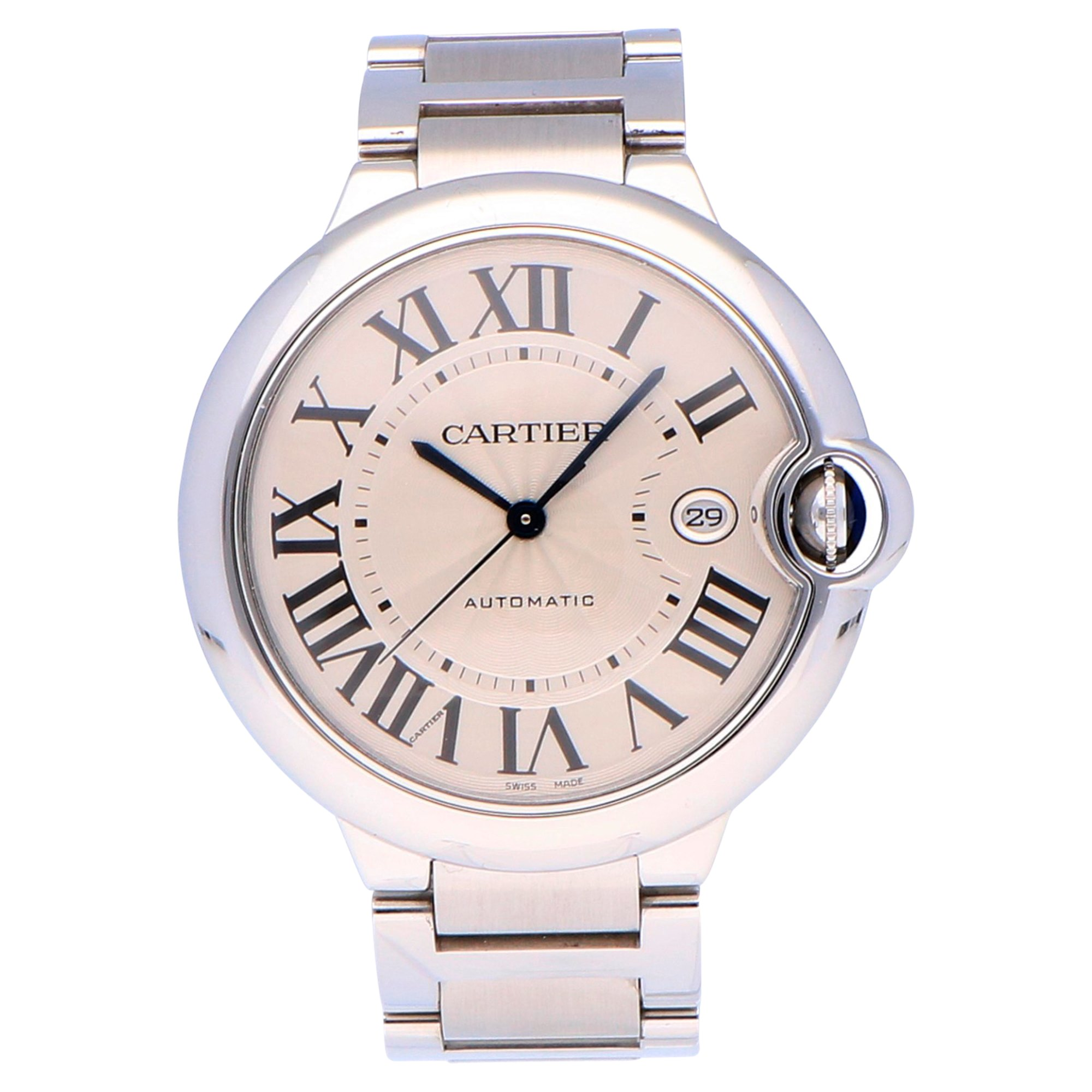 Cartier Ballon Bleu Stainless Steel W69012Z4