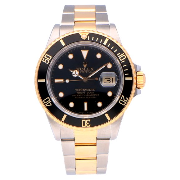 Rolex Submariner Date Stainless Steel & Yellow Gold - 16803