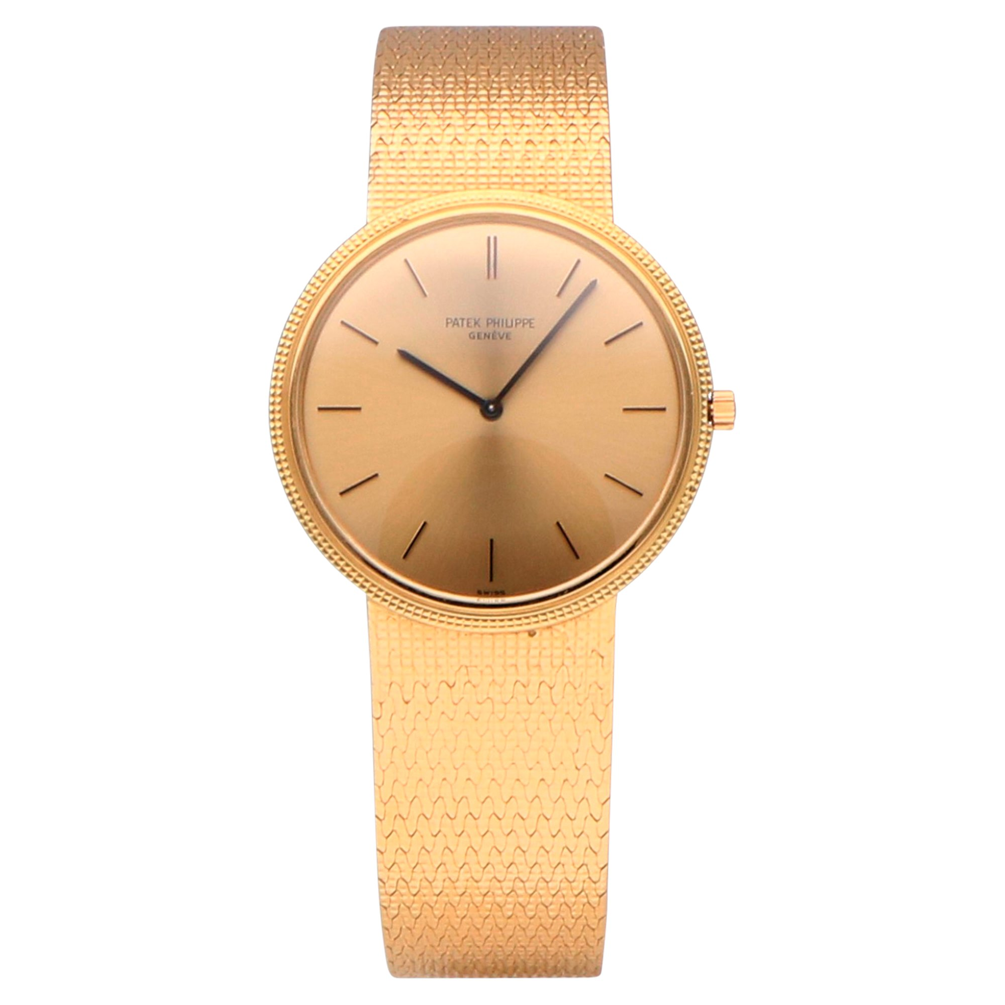 Patek Philippe Calatrava 18k Yellow Gold 3520