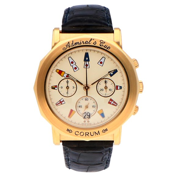 Corum Admiral's Cup 18k Yellow Gold - 296.830.56
