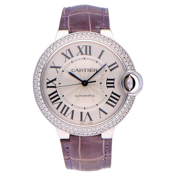 Cartier Ballon Bleu 18k White Gold - WE9006Z3