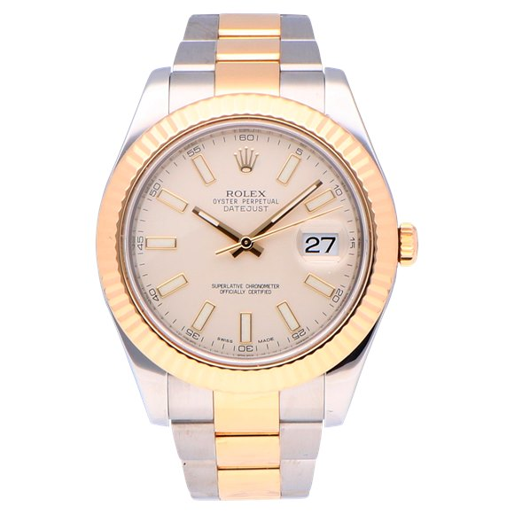 Rolex Datejust Stainless Steel & Yellow Gold - 116333