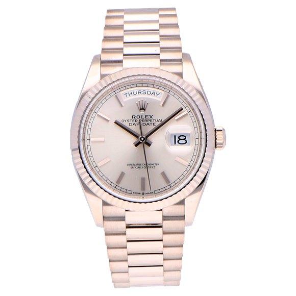 Rolex Day-Date 18k White Gold - 128239