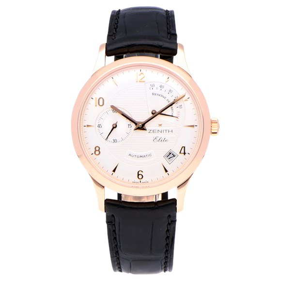 Zenith Elite Power Reserve 18k Rose Gold - 18.1125.685/01.C490