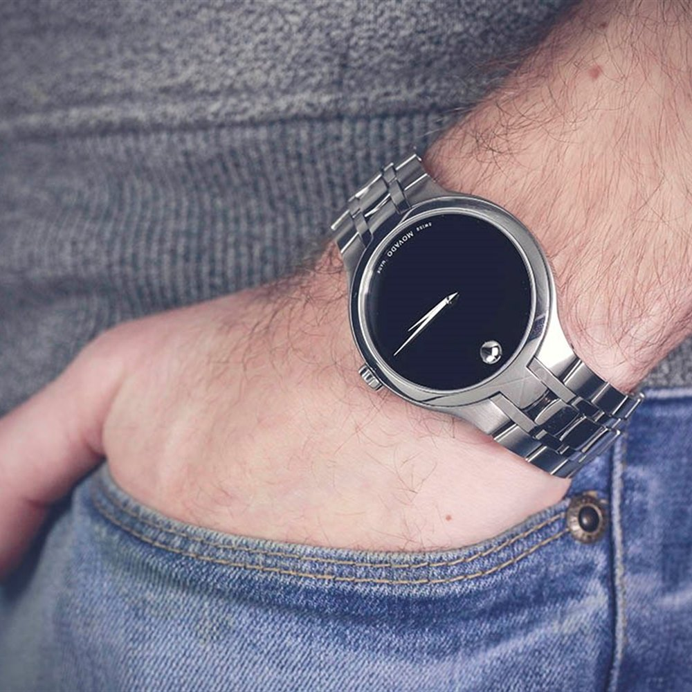 Movado Museum Stainless Steel