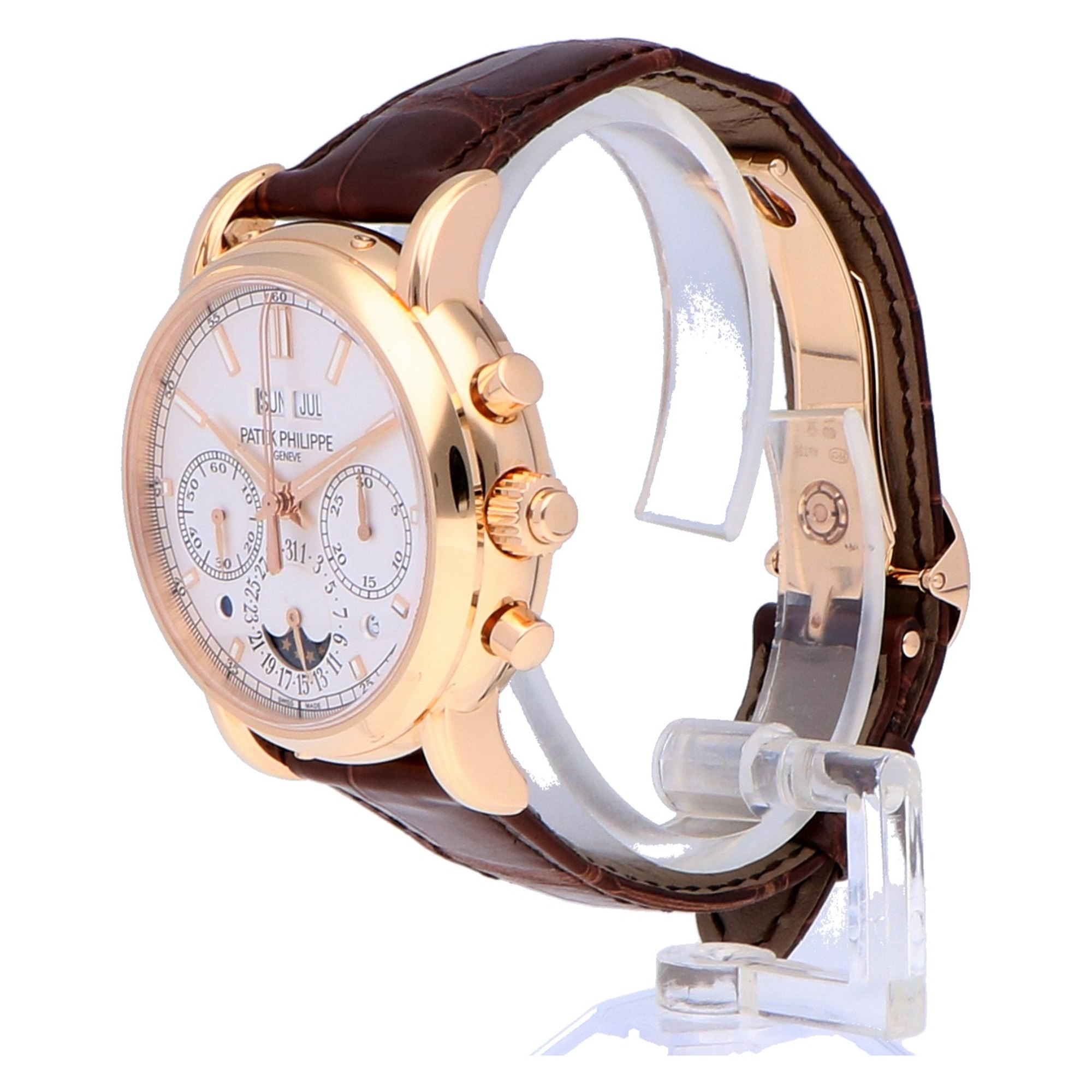 Patek Philippe Grand Complications Perpetual Calendar Chronograph 18k Rose Gold 5204R-001